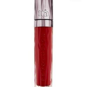 Urban decay revolution lip gloss 69 Red NWT